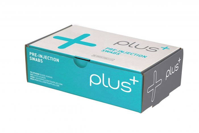 PLUS Pre-Injection Swabs - Buy 5 Get 1 Free - (Pack 200)