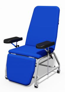 PLINTH 113B PHLEBOTOMY CHAIR - WITHOUT WHEELS